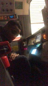 me on train